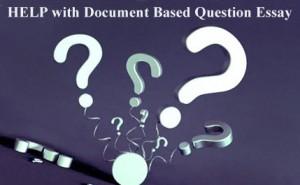 DBQ Essay Help