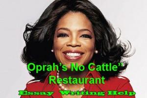 write to oprah