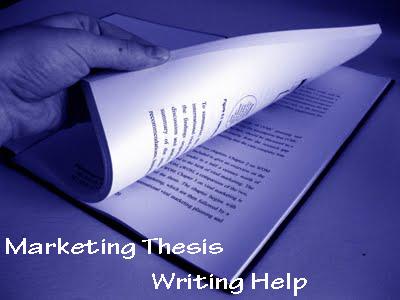 Marketing Dissertation Examples | Marketing Dissertation