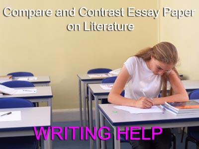 comparing and contrasting literature essays