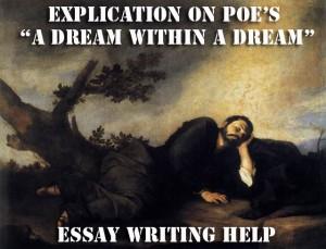 A dream within a dream essay
