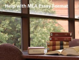 Mla format essay help