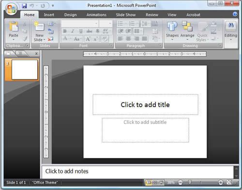 пауэр поинт скачать бесплатно для Windows 7 - фото 9